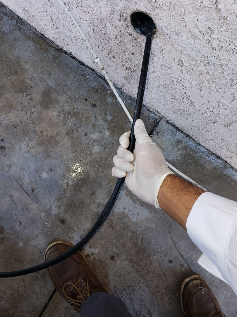 Placentia, CA - Hydro jetted kitchen sink line