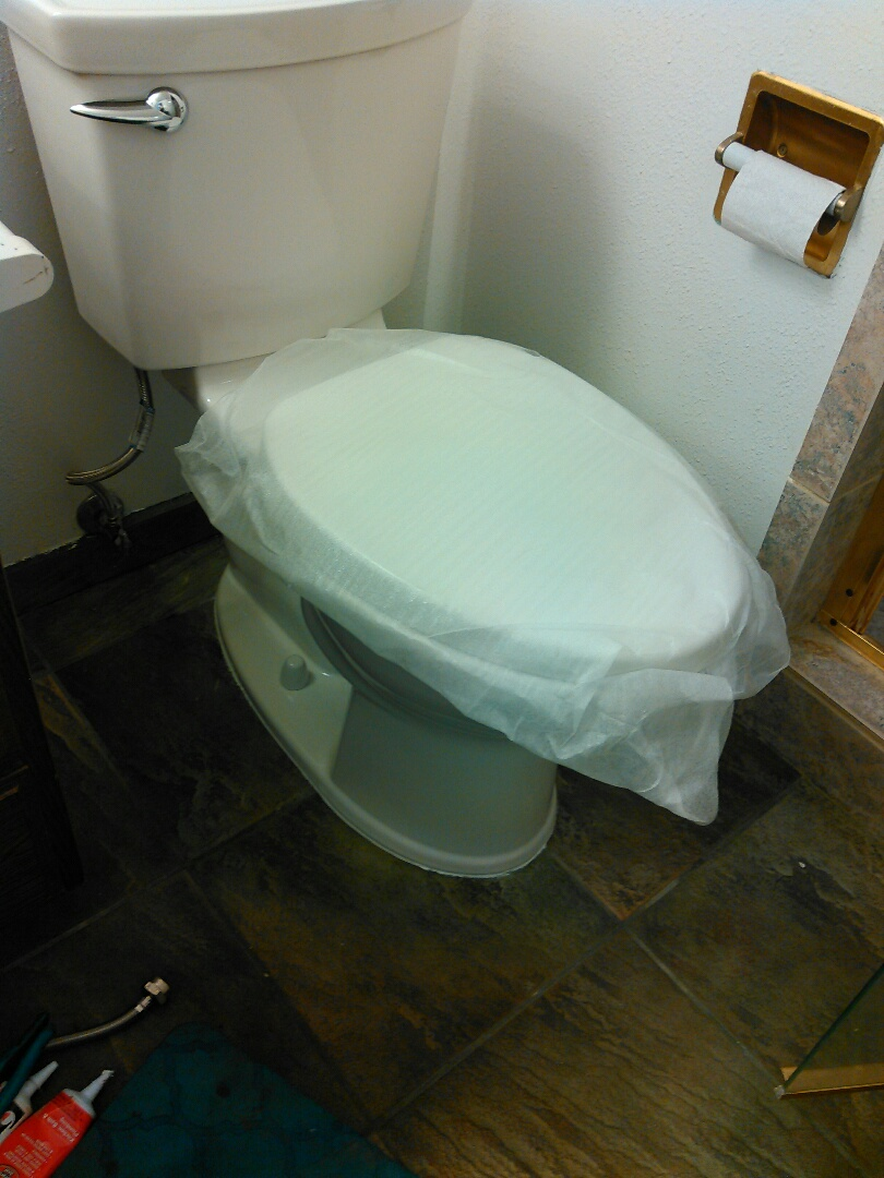 Culver City, CA - Replaced a toilet