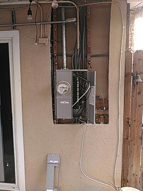 Montebello, CA - New electrical panel