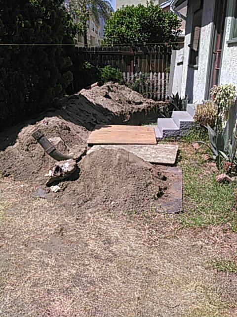 Arcadia, CA - Sewer repair