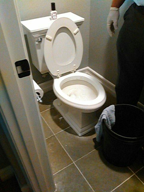 Mission Viejo, CA - Toilet stoppage