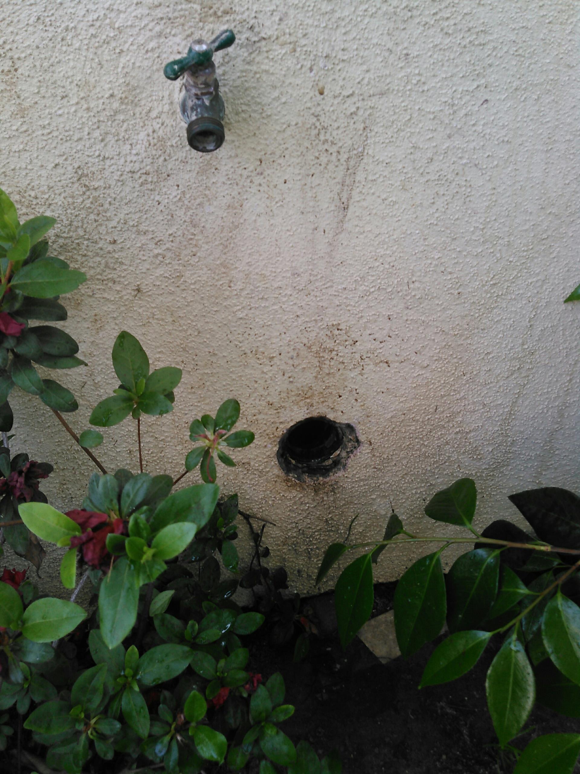 La Verne, CA - Sewer stoppage