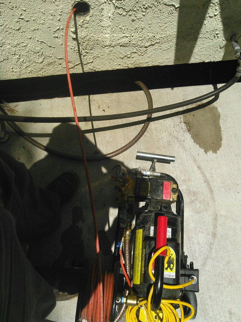 Aliso Viejo, CA - Flush grease with Hydro jetter from kitchen drain
