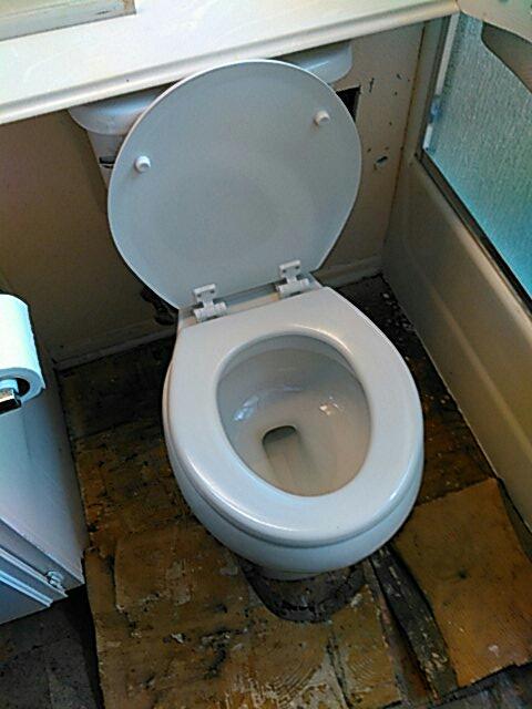 Coto de Caza, CA - Toilet install