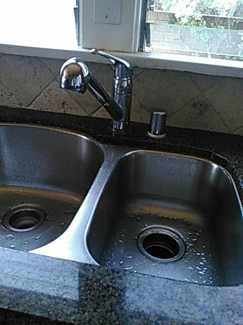San Gabriel, CA - Faucet install