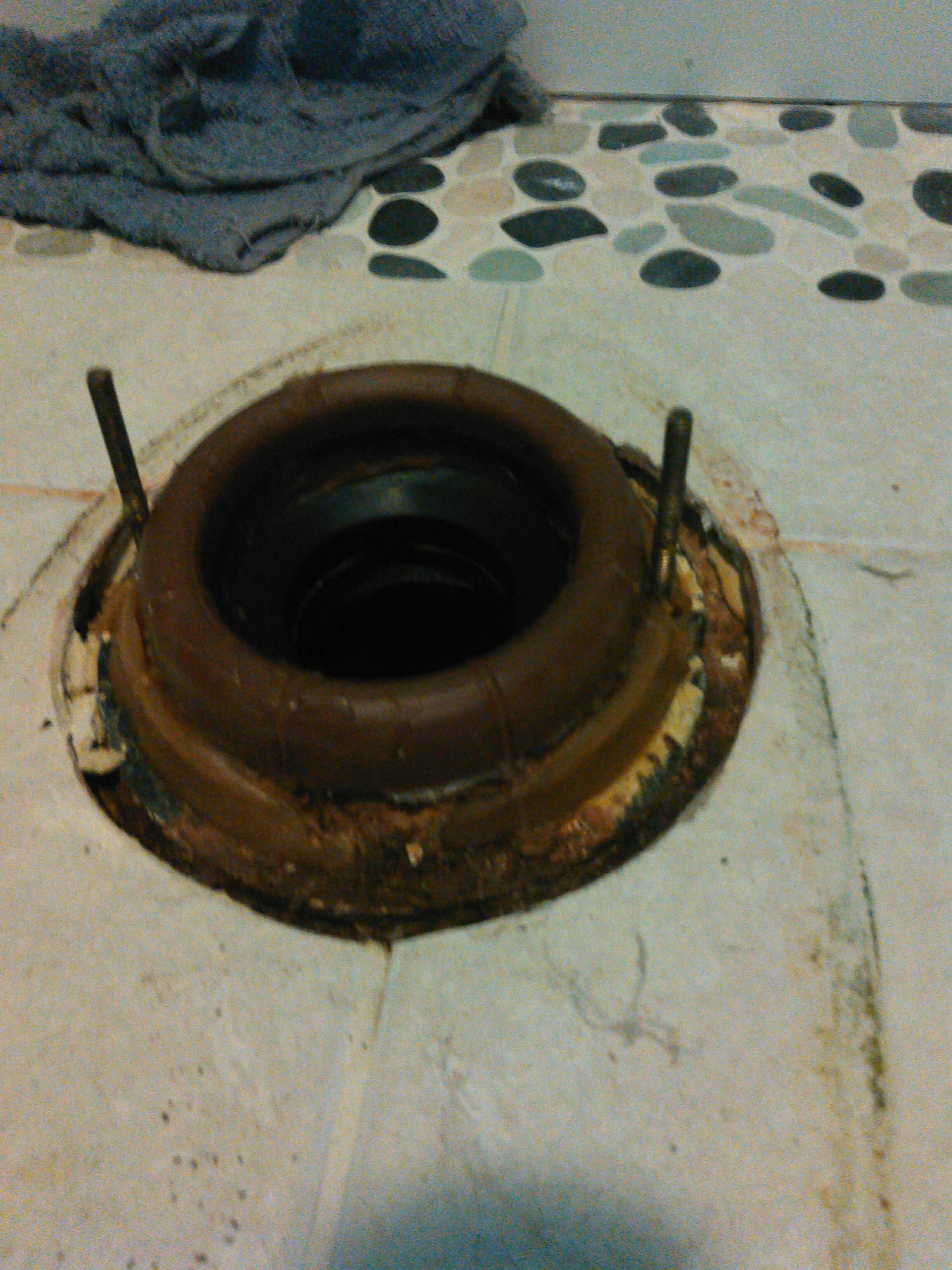 Corona, CA - Toilet wax ring