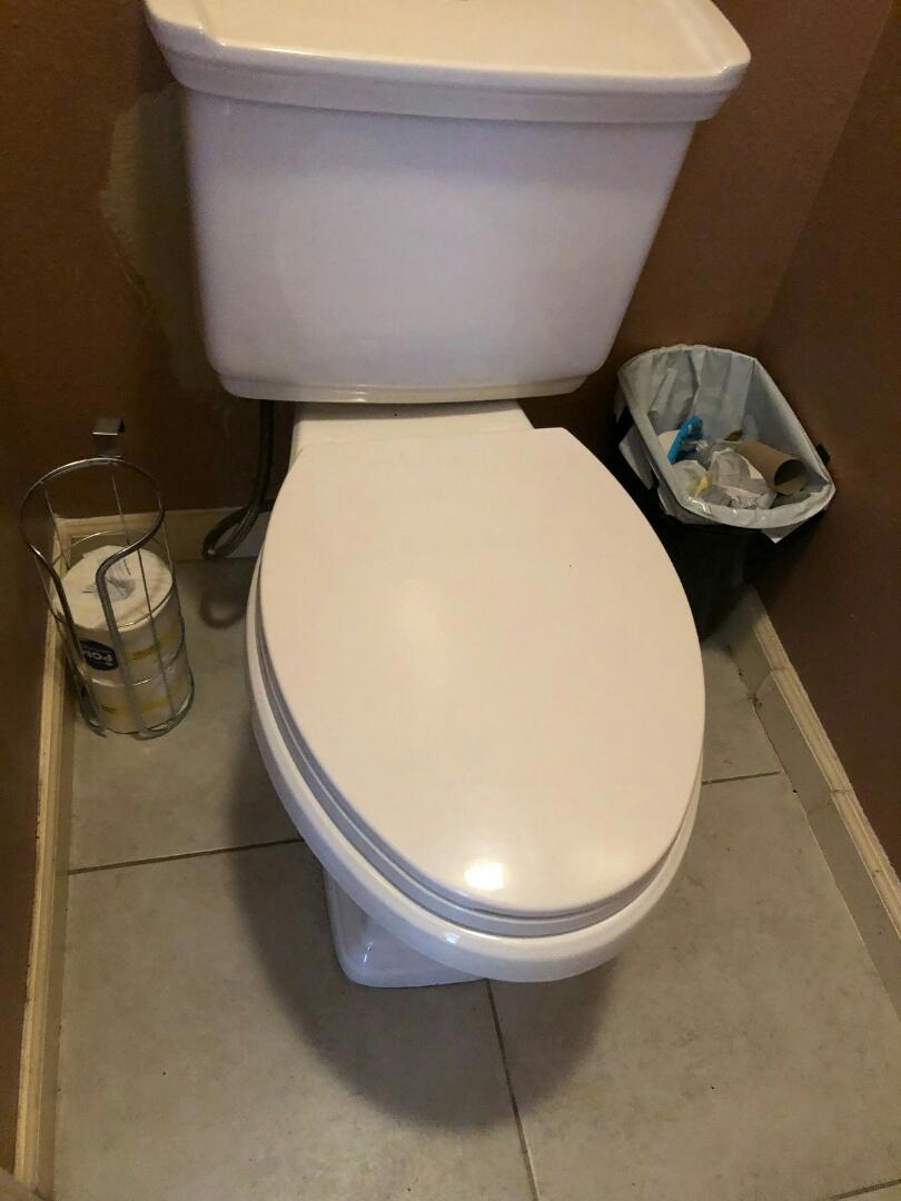 Monrovia, CA - Toilet rebuild