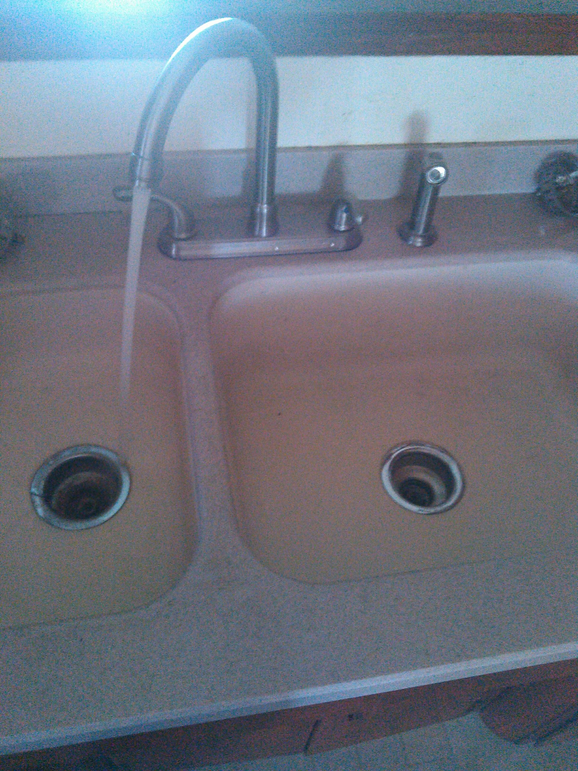 Pomona, CA - Kitchen drain