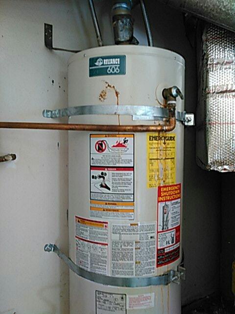 Pomona, CA - Water heater