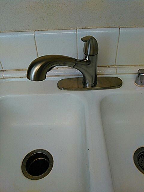 Irvine, CA - Faucet installation