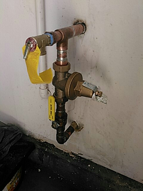 "Moorpark, CA - Installed 1"" water pressure regulator and relief valve"