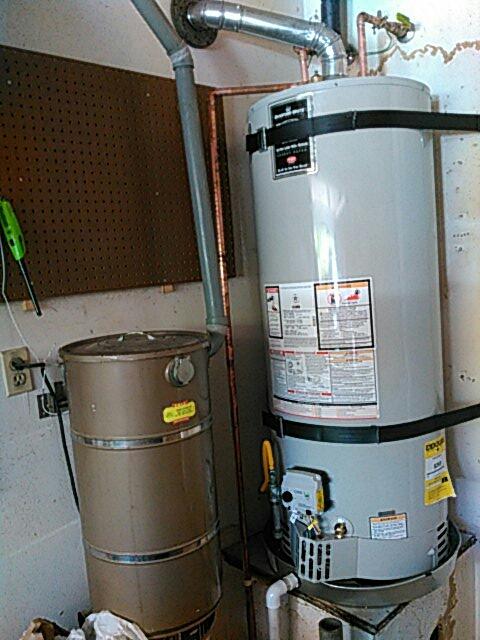 Gardena, CA - New water heater install