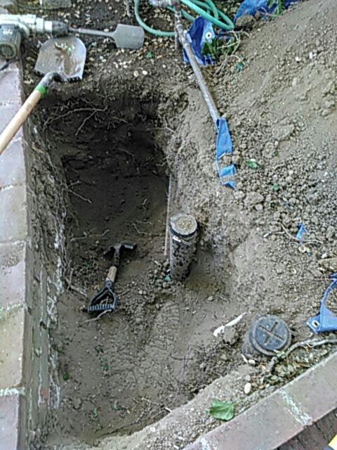 San Dimas, CA - Sewer repair
