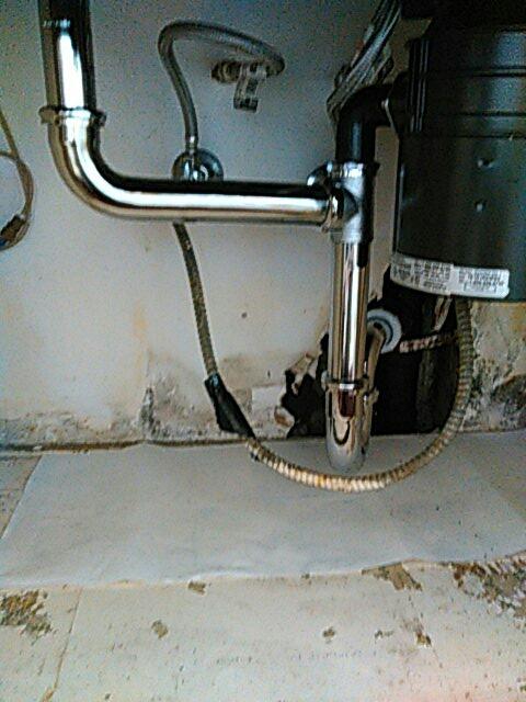 Redondo Beach, CA - Installed waste pipes under kitchen sink