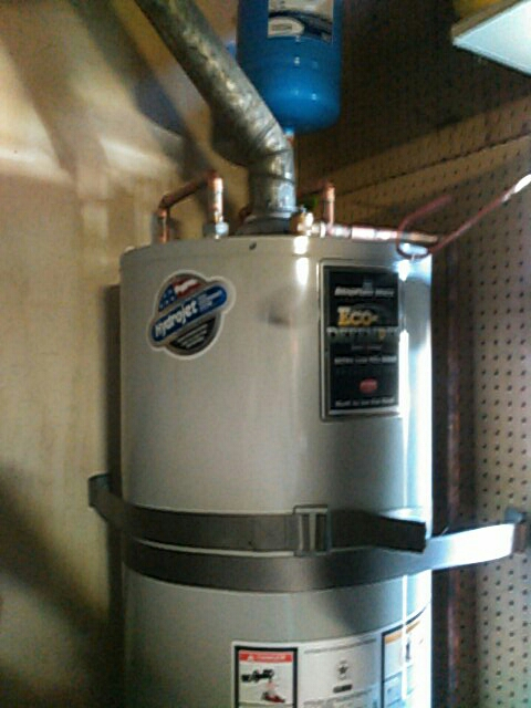 Rowland Heights, CA - Water heater installation