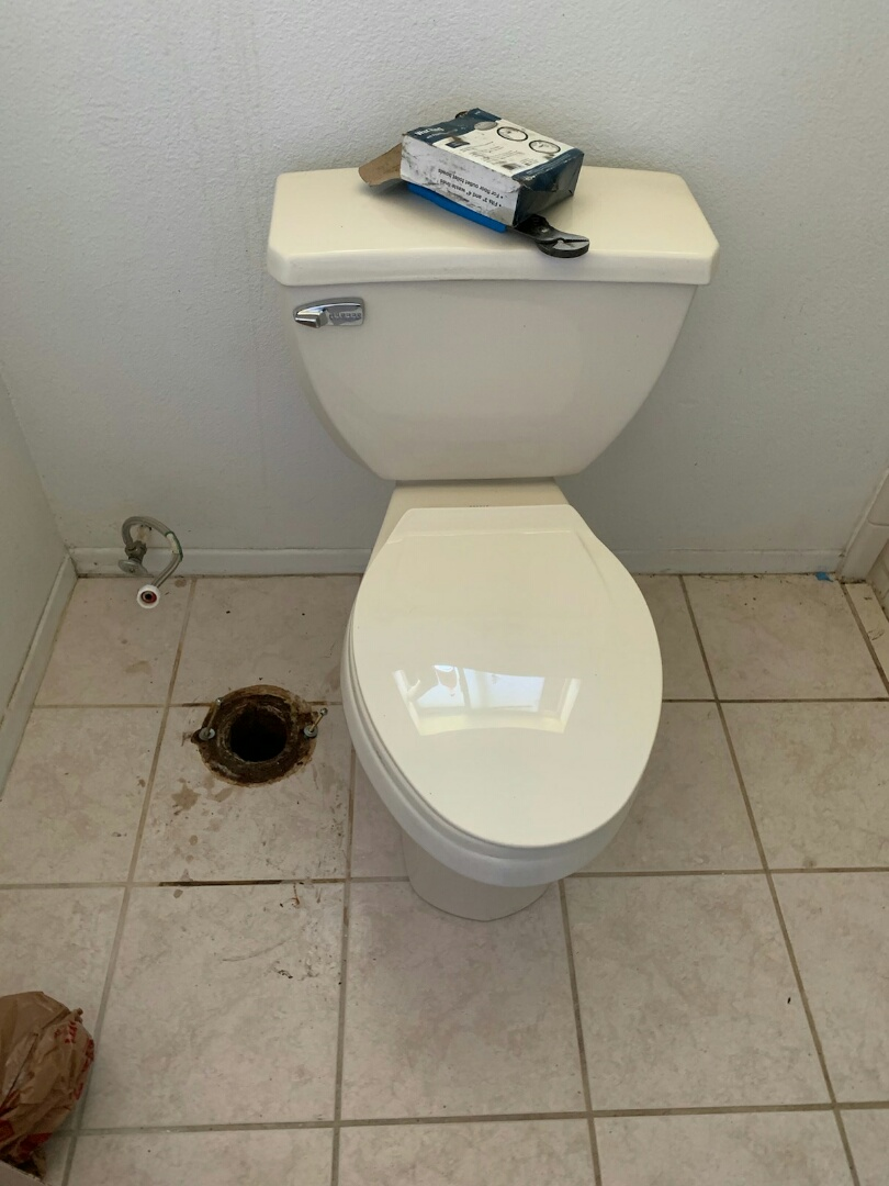 Rancho Cucamonga, CA - Install customer toilet