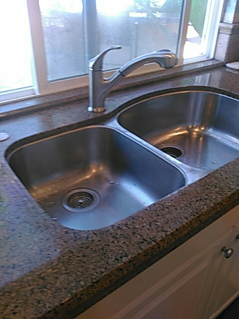 San Clemente, CA - Install faucet