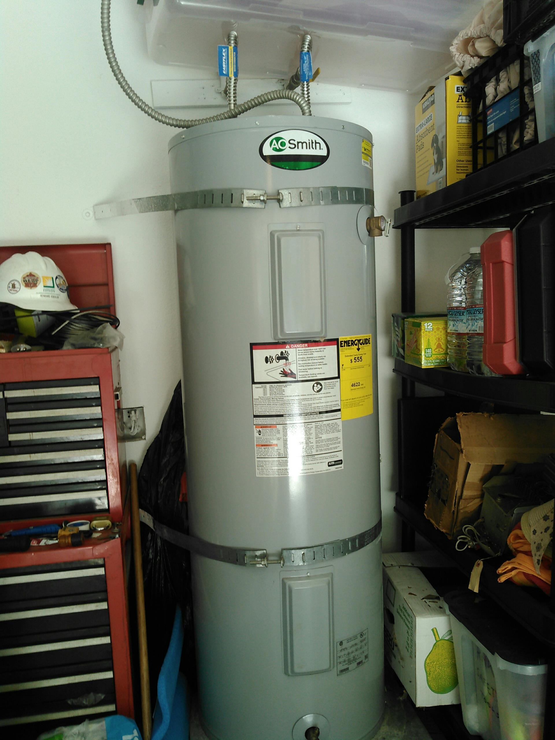 San Dimas, CA - Electric water heater repair