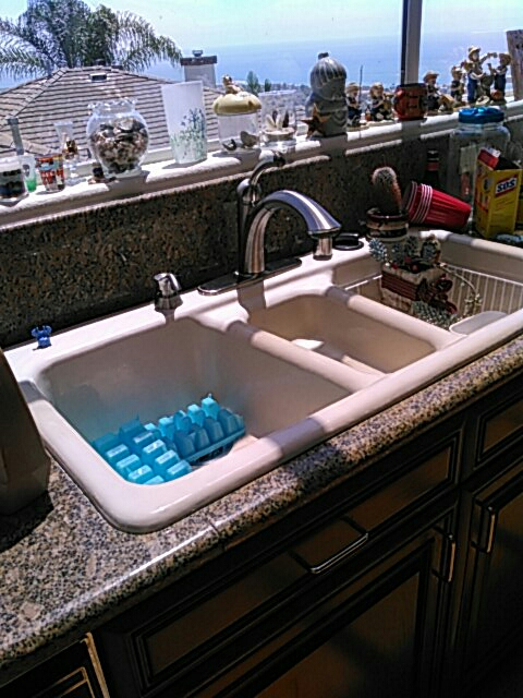 San Clemente, CA - Install four toilets and kitchen faucet