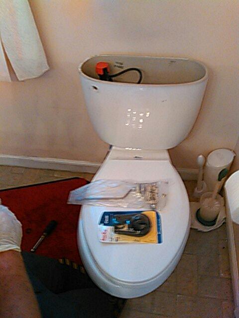 Tustin, CA - Toilet repair