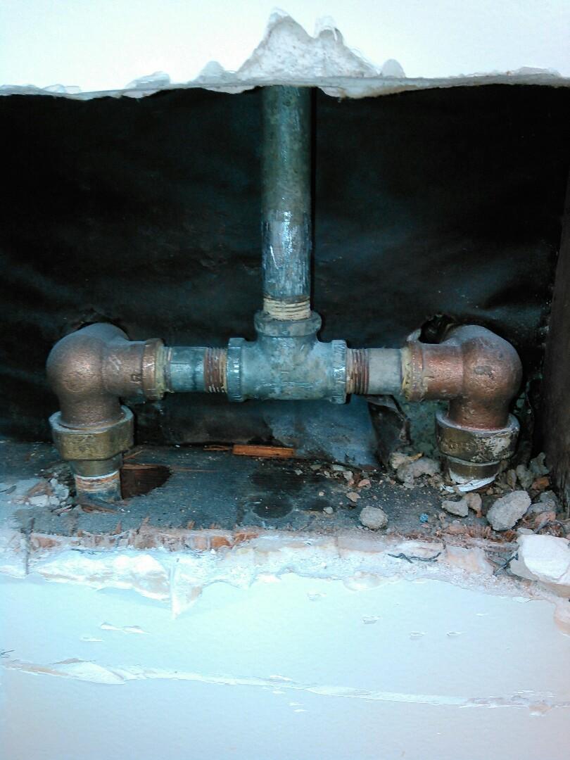 San Fernando, CA - Shower valve install