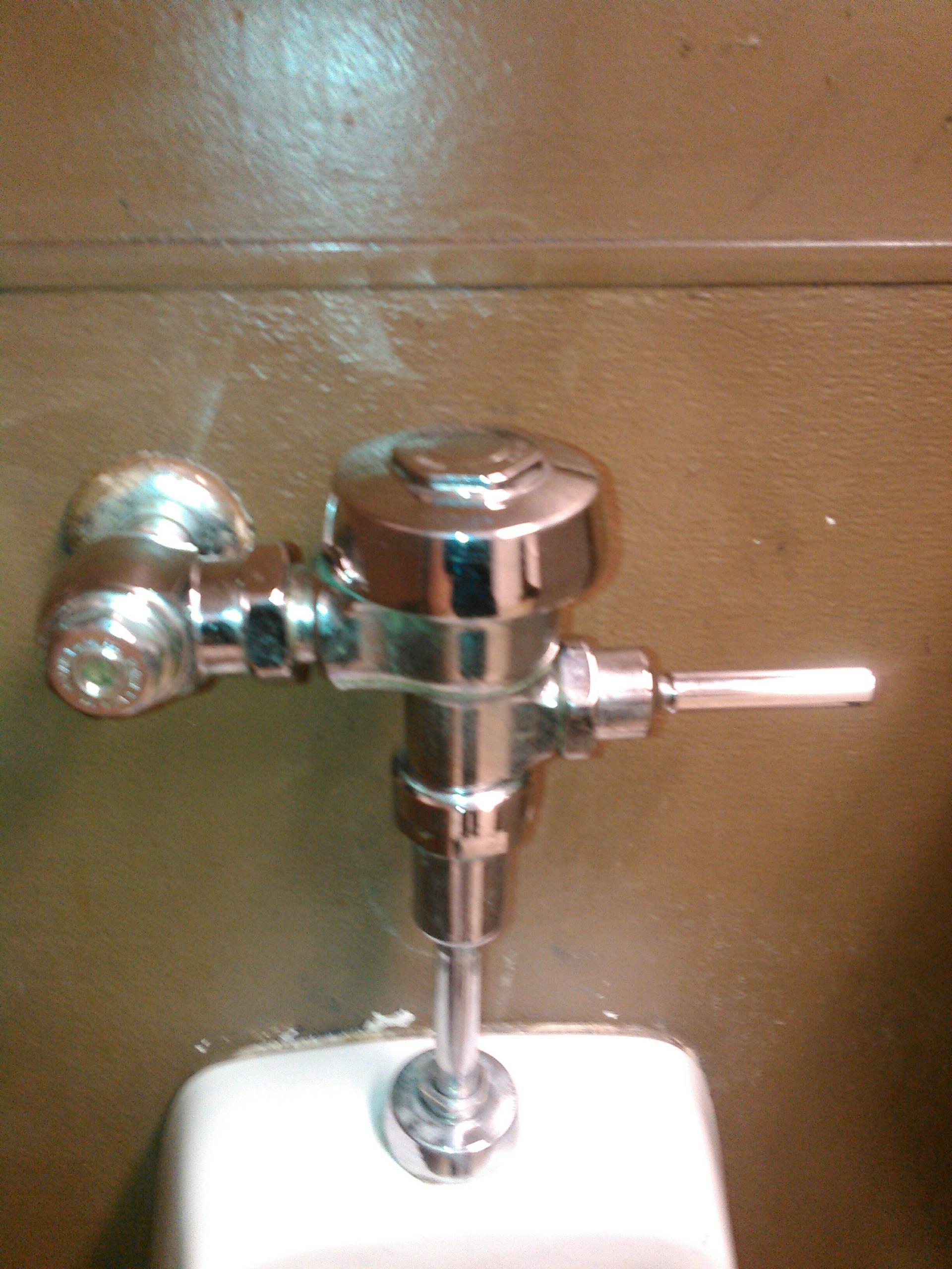 Urinal Sloan Valve Repair