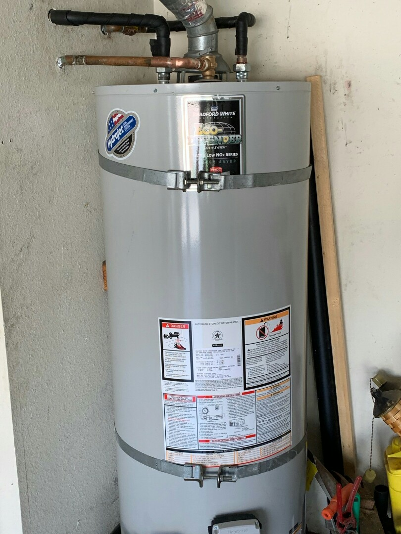 Diamond Bar, CA - Water heater install