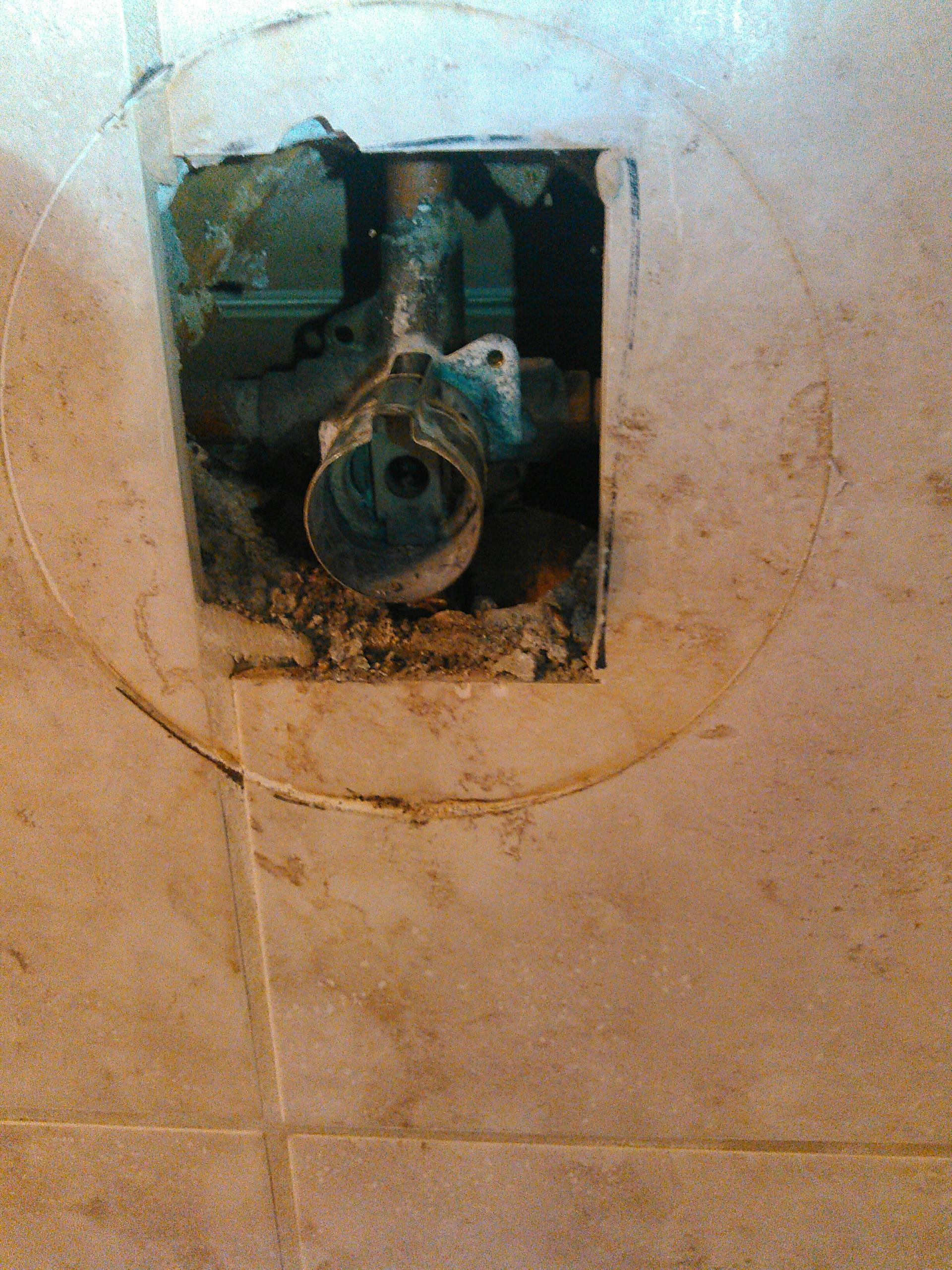 Chino, CA - Shower repair