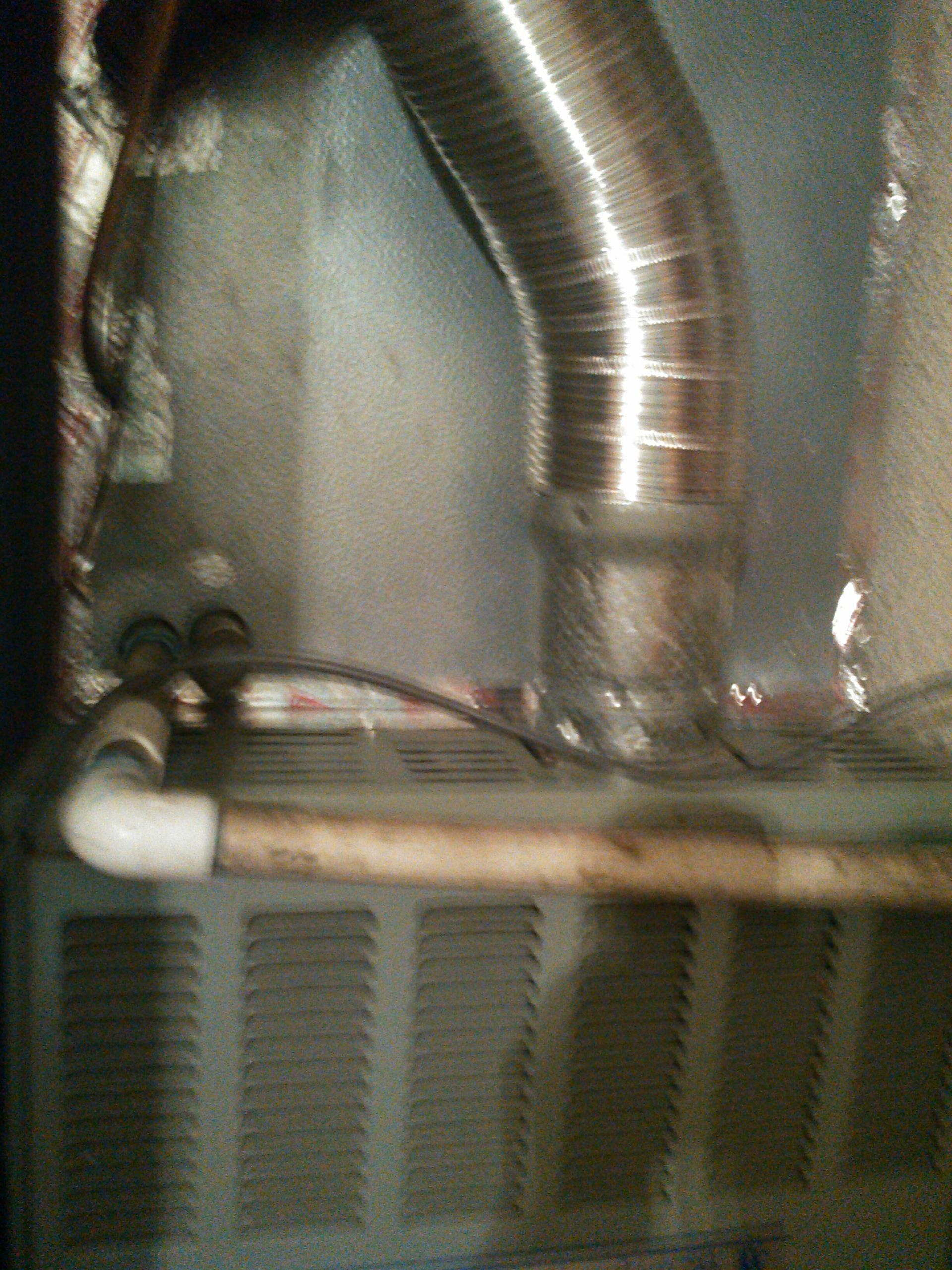 Walnut, CA - Removed cleaned and replaced evaporator coil