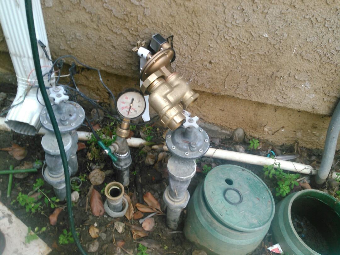 Sprinkler system repairs and inspection report