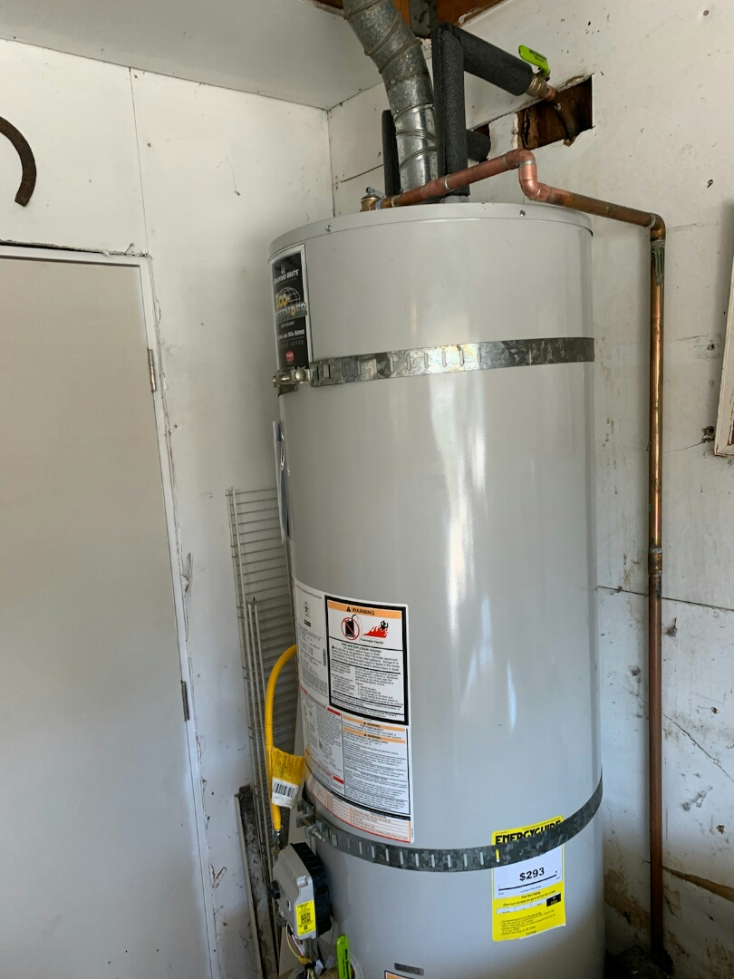 Westminster, CA - Replaced water heater