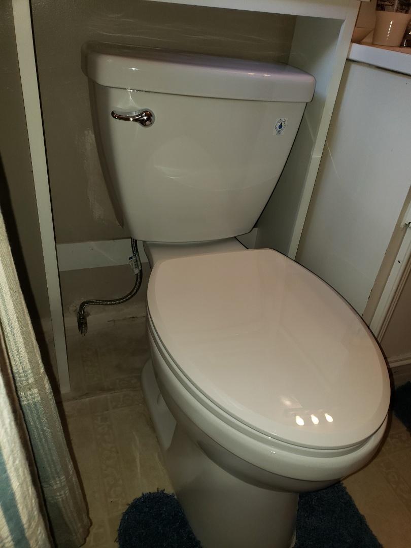 Downey, CA - Toilet
