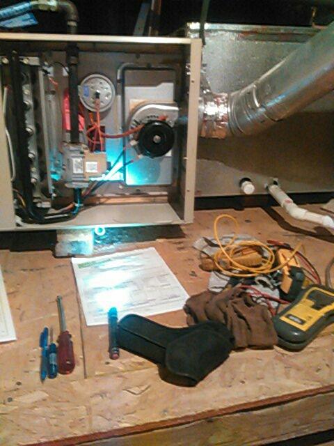 Mission Viejo, CA - Service maintenance furnace