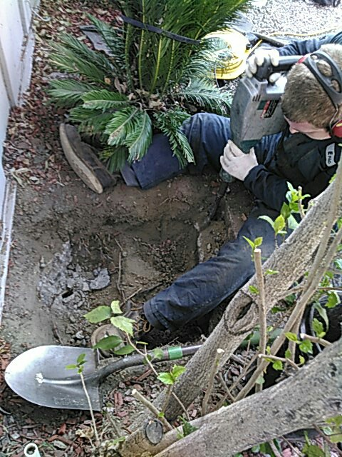 Mission Viejo, CA - Install mainline clean out  access