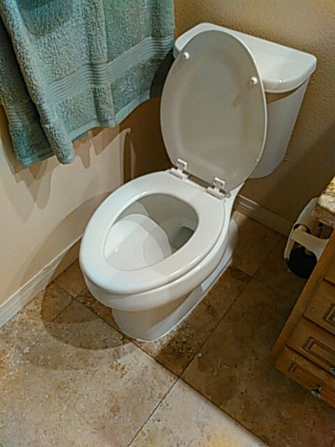 Costa Mesa, CA - Install new toilet