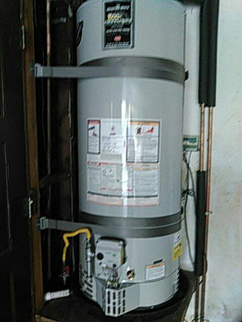 Redondo Beach, CA - Installed 50 gallon water heater