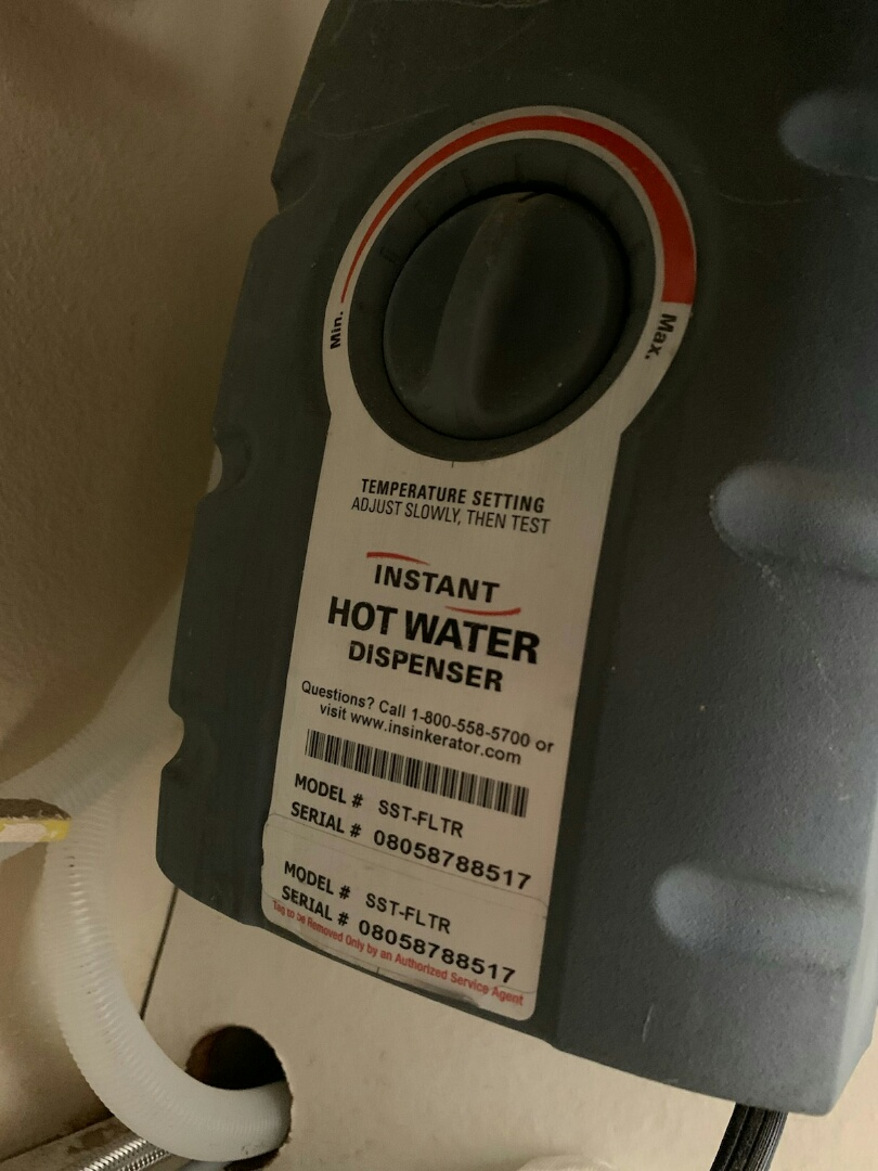 Aliso Viejo, CA - Changed hot water dispenser