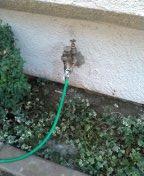 Carson, CA - Repaired leak in the wall,installed new hose bibs, installed new brass spingkler valve, repaired riser