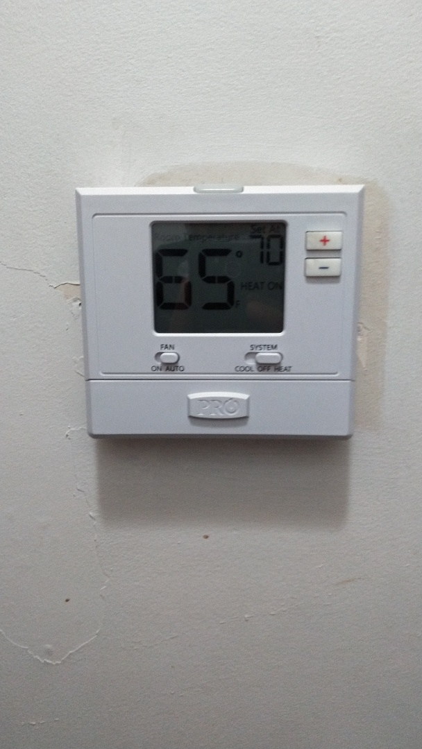 Azusa, CA - Repaired furnace and installed new thermostat
