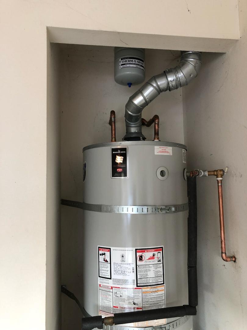 Glendora, CA - Water heater installed