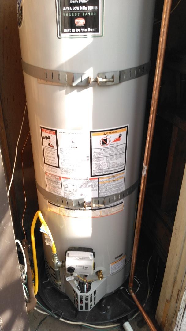 Gardena, CA - Water heater installation