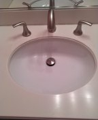 Tustin, CA - Installed new sink and faucet