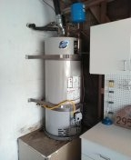 Laguna Niguel, CA - Water heater install with expansion tank