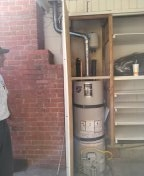 Los Angeles, CA - Install new water heater.