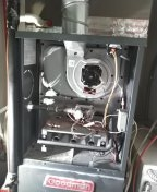 Palos Verdes Estates, CA - Installed new inducer motor assembly,service unit, installed new washable filter.