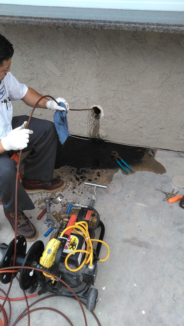 Newport Beach, CA - Hydrojet kitchen drain and cable lavy drain