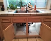 Walnut, CA - Kitchen sink stoppage, draino and tubular removal no clean out