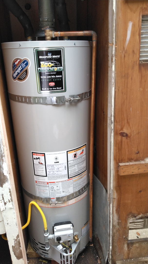 Laguna Beach, CA - Replaced water heater
