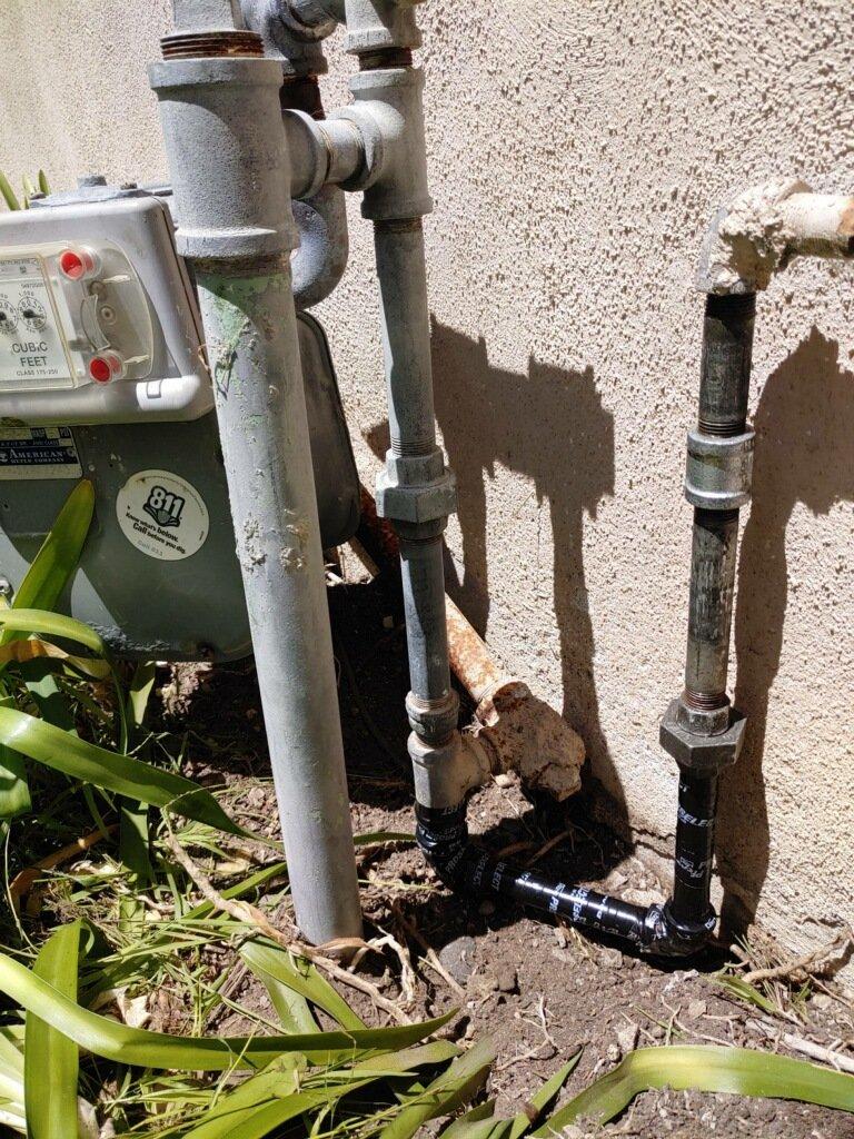 Lomita, CA - Gas Line Repair