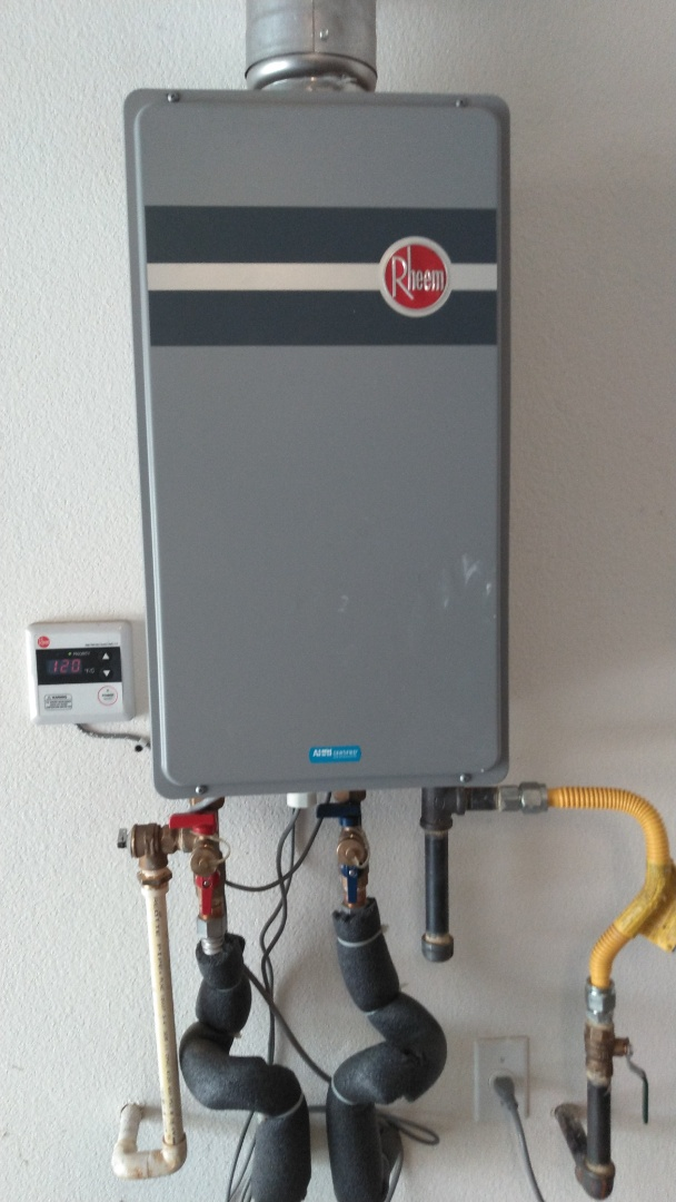 Ontario, CA - Service call for tankless unit